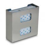 Glove Box Holder, Double, Stainless Steel