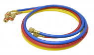 Ez-Turn 3 ft. Anti-Blowback Hose Set