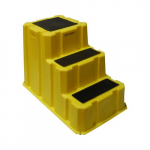 "26"" x 42"" x 28"" Yellow 3 Step Nestable Stool"