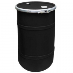 "22-1/2"" Black Open Head Drum Bung"