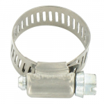 "#10 Stainless Steel Hose Clamp 1/2"" x 1-1/16"""