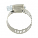 "#16 1-1/16"" x 1-1/2"" Stainless Steel Hose Clamp"