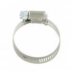 "#24 1"" x 2"" Stainless Steel Hose Clamp"