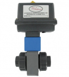 Automated Ball Valve - Two-Way Plastic