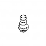 7//16 ID for use with Pump Models 1399 and 1400 Welch Vacuum 1393J Hose Adapter