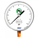 111.25DW Bourdon Tube Pressure Gauge 200 PSI
