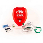 Adult/Child CPR Mask in Hard Red Case