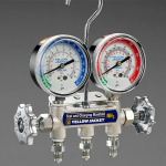 NH3 Ammonia Manifold and Gauges