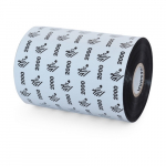"4"" x 984' Wax Ribbon Custom Notched 1"" Core"