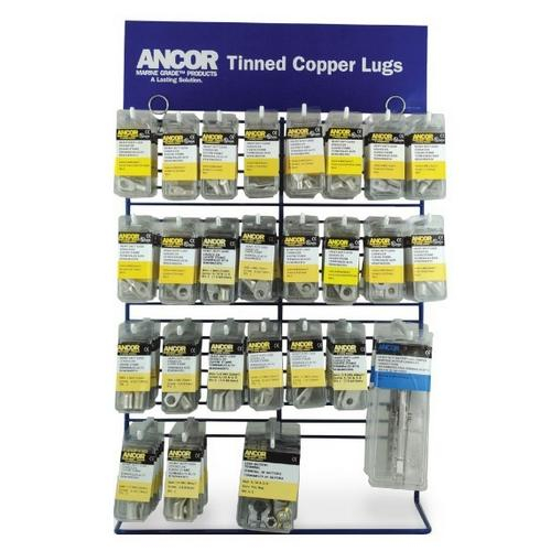1//4 in Tinned Lugs 2 Pack Ancor 252244 6 AWG