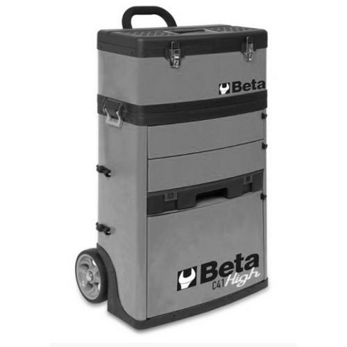 Beta CP51 2-Level Mobile Workshop Tool Trolley Grey
