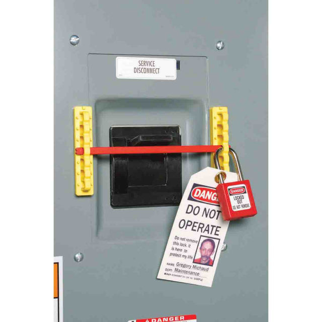 Brady 480//600V Breaker Blocker Kit