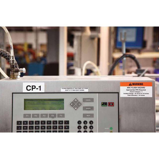 Brady 143360 BMP41 BMP51 BMP53 Continuous Nylon Cloth Wire Lab Labels MC-750-499