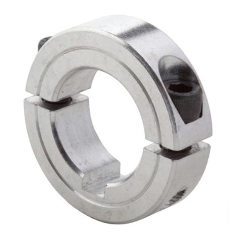 CLIMAX METAL PRODUCTS CO 2C-100 CLAMP Collar Two Piece 1IN BORE Black Oxide Steel