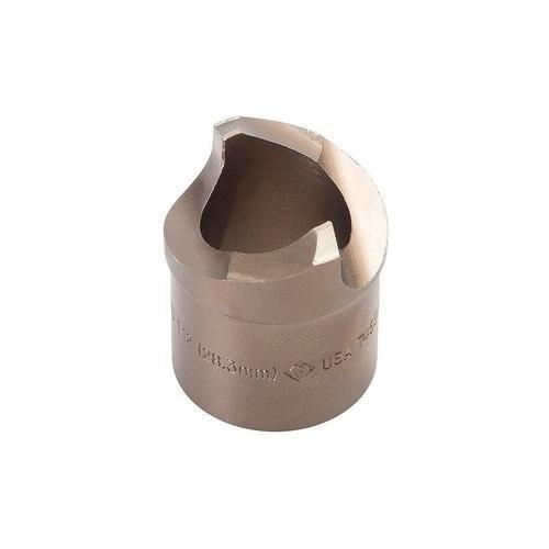 0.375 Minimum Bore Diameter 0.100 Projection 0.046//0.048 Groove Width 0.750 Maximum Bore Depth 0.3750 Shank Diameter 2.5 Overall Length Micro 100 FR-046-12 Full Radius Grooving Tool Solid Carbide Tool
