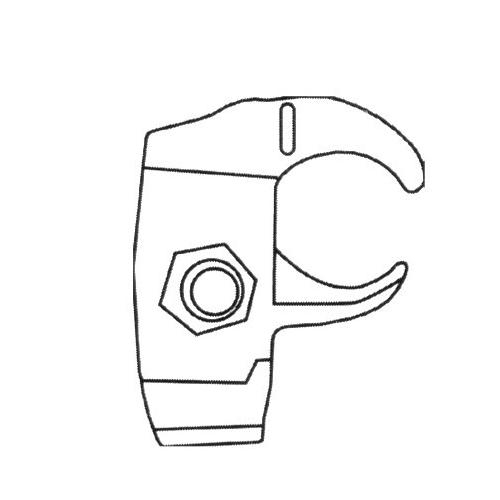 2-1//2 2-1//2 Morris Product Morris 21877 Malleable Edge Pipe Clamp