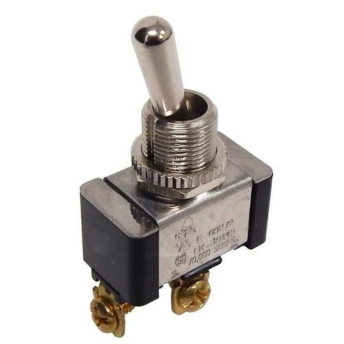 """1.13/"""" x .57/"""" x .61/"""" CURus Listed 100,000 Mechanical Life Cycles Heavy Duty -Off 2 Screw Terminals Morris Products Momentary Contact Toggle Switch On SPST Screw Terminals"""