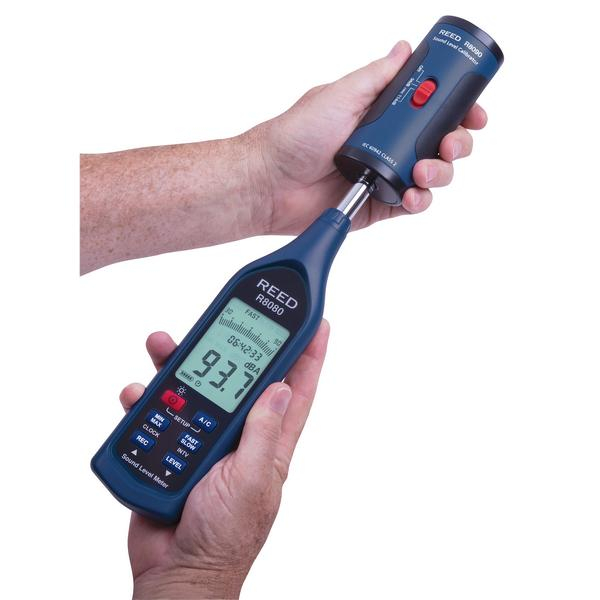 REED Instruments R8080 Sound Level Meter 30 to 130 dB Datalogger with Bargraph