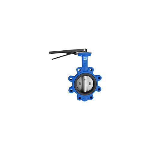 Buna Seat Butterfly Valve Size 2.5 Wafer DI NP Disc