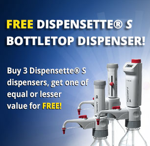 Get 1 Free Dispensette by BrandTech!