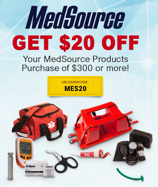 Save on MedSource Products!