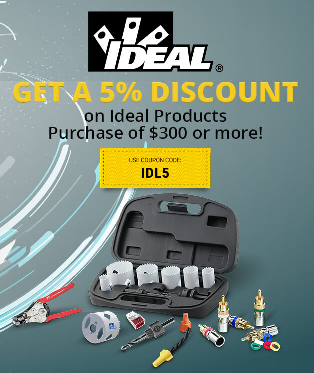 Save on Ideal Products!
