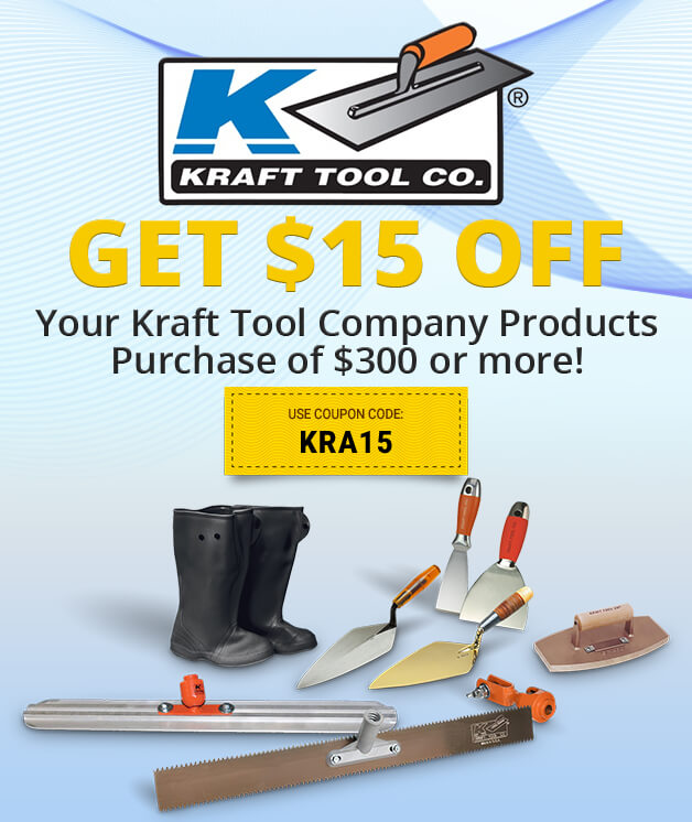 Kraft Tool Company Savings!